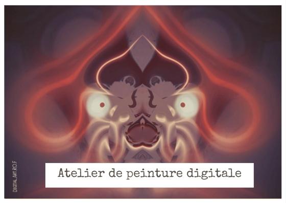 atelier peinture digitale