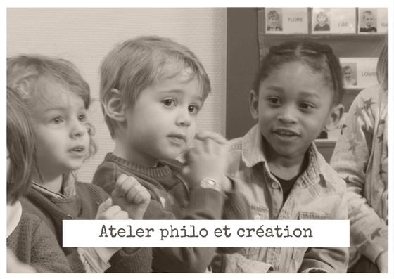 atelier philo et création