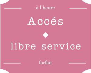 Accès en libre service